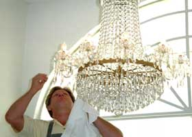 Chandelier Cleaning & Restoration